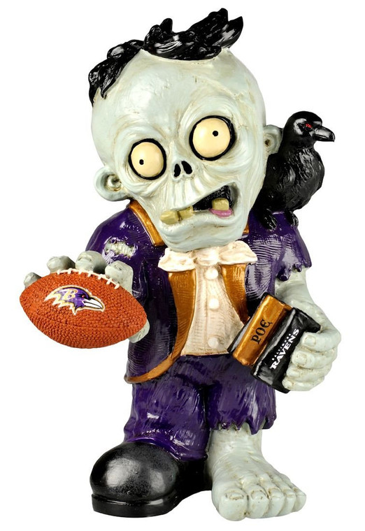 Baltimore Ravens Thematic Zombie Figurine