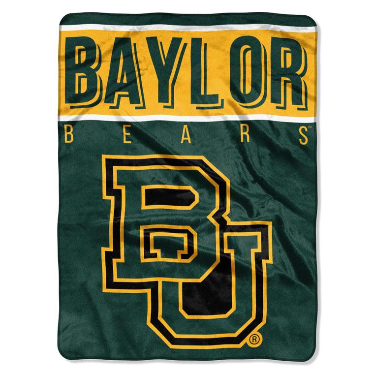 """Baylor Bears Raschel Basic Design Blanket 60x80"""""""