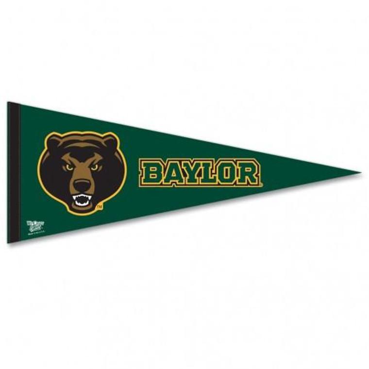 "Baylor Bears Pennant Premium Pennant 12x30"""