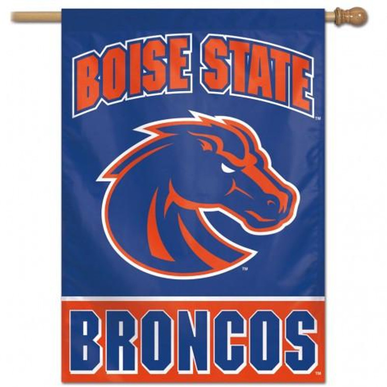 Boise State Broncos Banner 28x40 Vertical