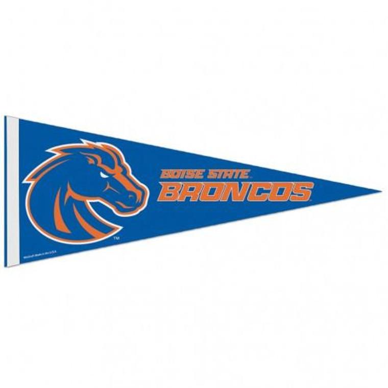 "Boise State Broncos Pennant Premium Pennant 12x30"""