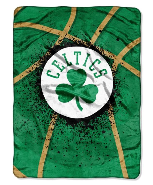 "Boston Celtics Raschel Blanket 60x80"""