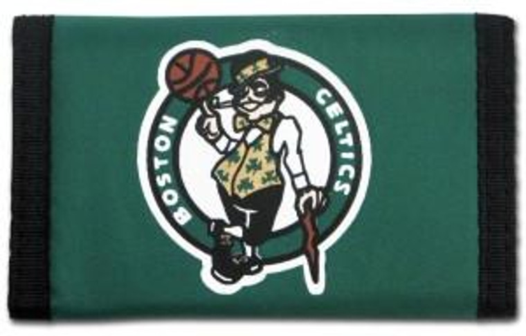 Boston Celtics Nylon Trifold Wallet