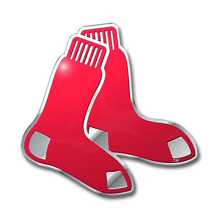 Boston Red Sox Color Auto Emblem