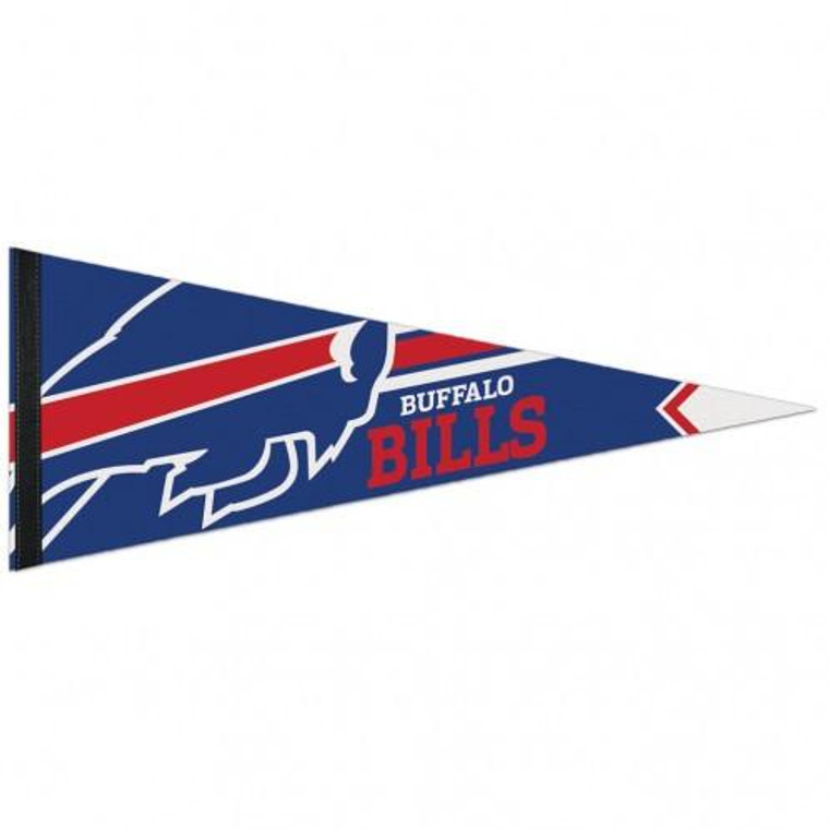 "Buffalo Bills Pennant Premium Pennant 12x30"""