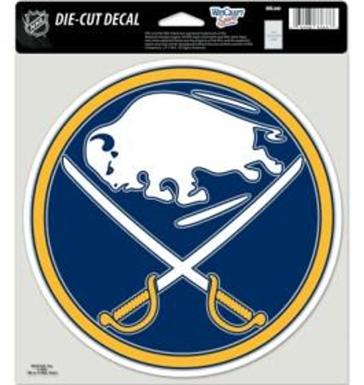 """Buffalo Sabres Die Cut Color Decal 8x8"""""""