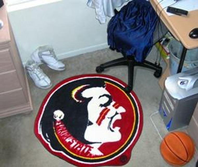 Florida State Seminoles Area Rug - Mascot Style