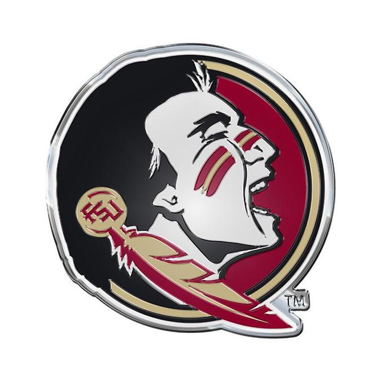 Florida State Seminoles Color Auto Emblem