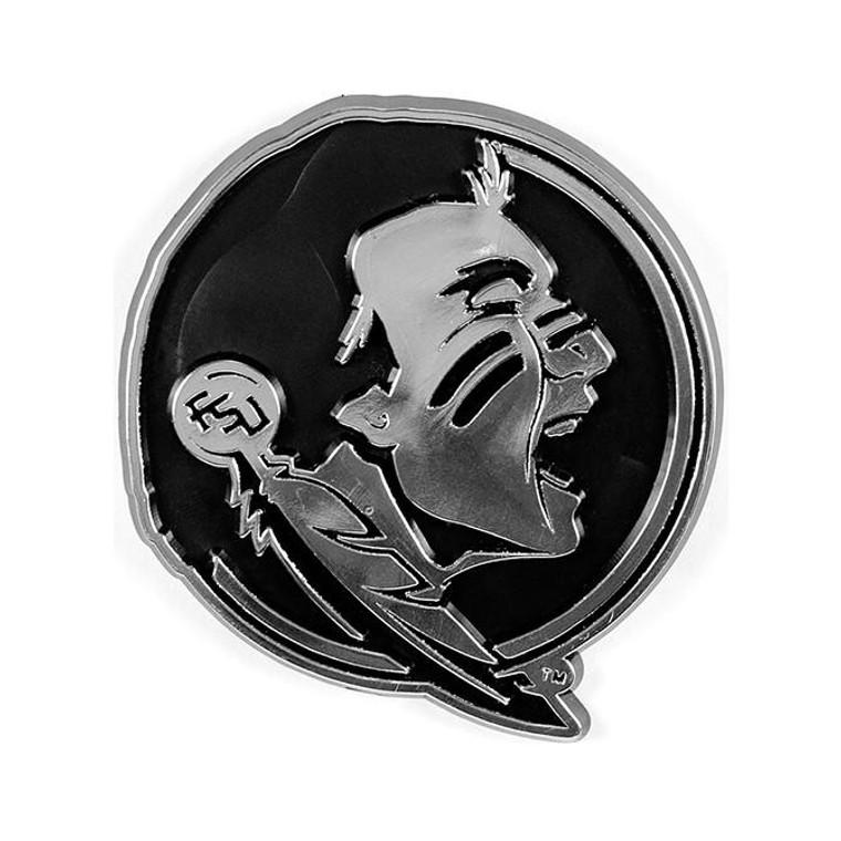 Florida State Seminoles Silver Auto Emblem