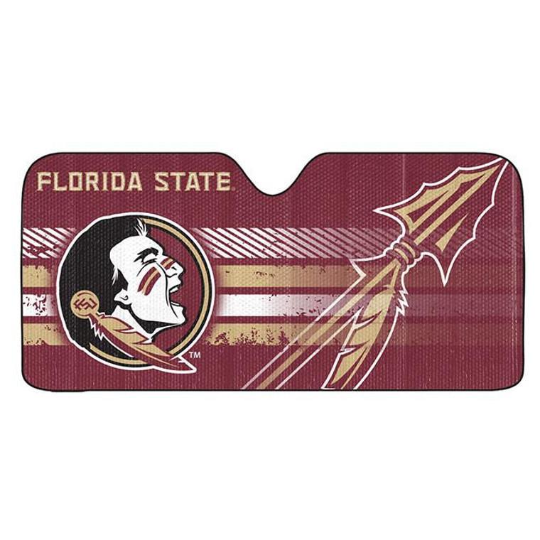 "Florida State Seminoles Auto Sun Shade 59x27"""