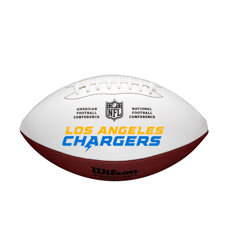 Los Angeles Chargers Full Size Signature Football