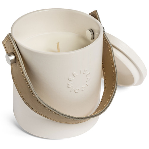 Elle Leather Candle