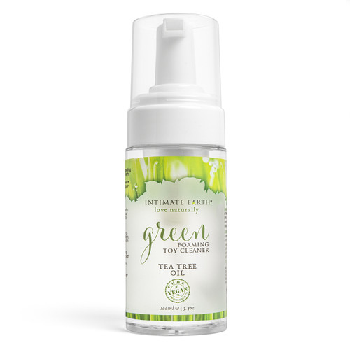Intimate Earth Green Foaming Toy Cleanser
