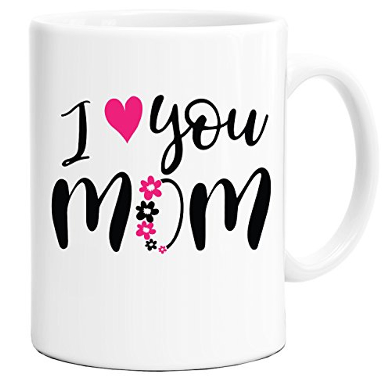 Mother S Day Mug I Love You Mom Mug Design For Moms Coffee Mug Gift Box Mug In Decorative Blue Ribbon Box 11 Oz Gifts For Moms Women Friends Both Sides Printed Toyboxtech