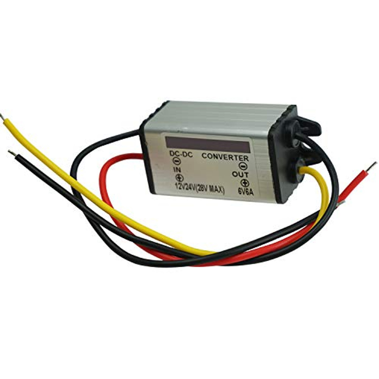 Proshopping Dc Converter Regulator 12v Step Down To 6v 6a 36w Voltage Reducer Dc Dc Power Supply Module Buck Transformer Waterproof For Car Truck Vehicle Boat Toyboxtech