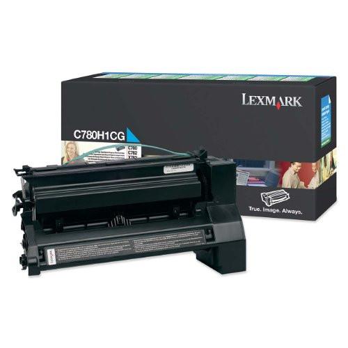 Lexmark C780H1CG Return Program High Yield Cyan Toner Cartridge