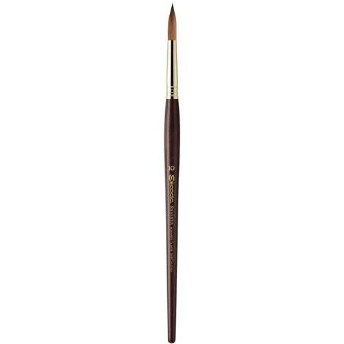 Reserva 1212 Watercolor & Acrylic Kolinsky-Tajmyr Sable Paint Brush Round Pointed ,Size-8-(4.4Mmx22mm)