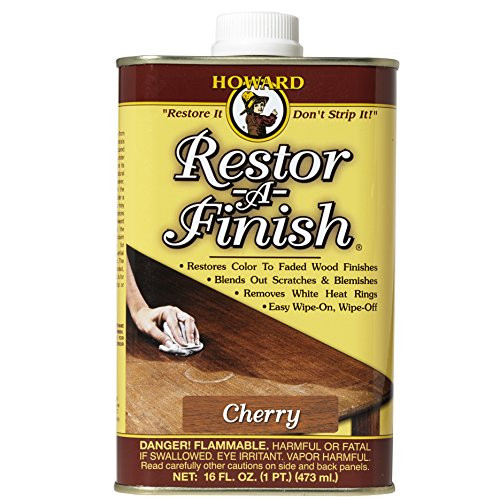 Howard RF9016 Restor-A-Finish, 16-Ounce, Cherry
