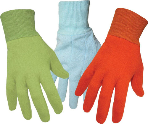 Boss 418 Jersey style Gardening Gloves. For ages 5-8