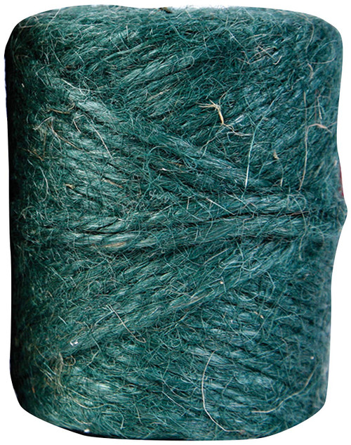 Twisted Jute, Gardening Twine, 200ft Green
