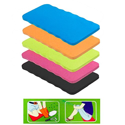 Set of 4 - Foam Kneeling Pads Garden Knee Mat / Gardening Seat Cushion