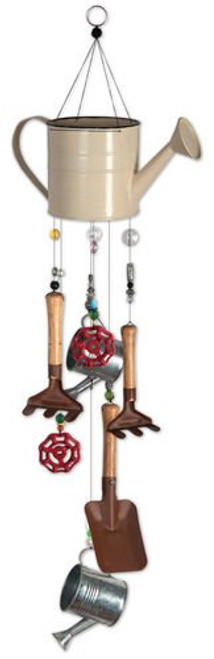Sunset Vista Designs Gardening Time Chime, 30-Inch