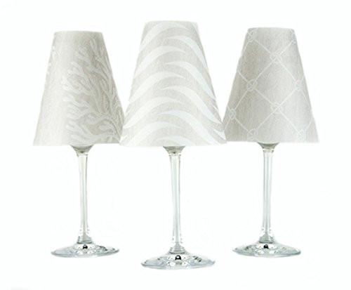 di Potter Wine Glass Shades,  Vienna White