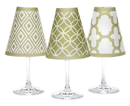 di Potter Wine Glass Shade, Barcelona Green