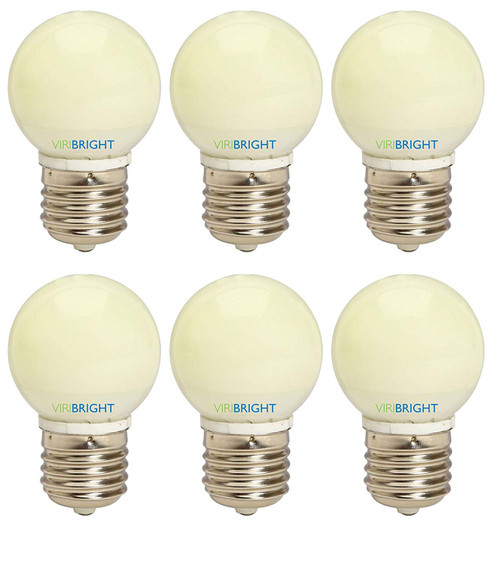 25 Watt Equivalent G15 LED Vanity Light Bulbs (6-Pack) Warm White 2700K E26 Medium Base LED Globe light 180 lumens