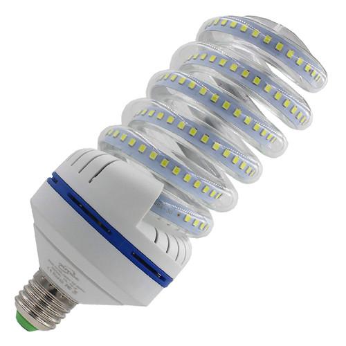 OUYIDE 250 Watt Equivalent A19 Spiral LED Bulbs 30W Daylight 6000K LED Corn Light Bulbs 3300LM E26 E27 Base