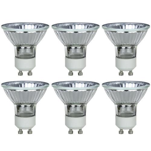 Sunlite 20MR16/GU10/FL/120V/6PK Halogen 20W 120V MR16 Flood Light Bulbs (6 Pack)