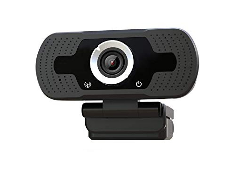 Full 1080P HD Webcam Built-in Microphone Camera USB Webcam for Laptops and Desktop External Wired Live Streaming Web Camera for Skype You Tube