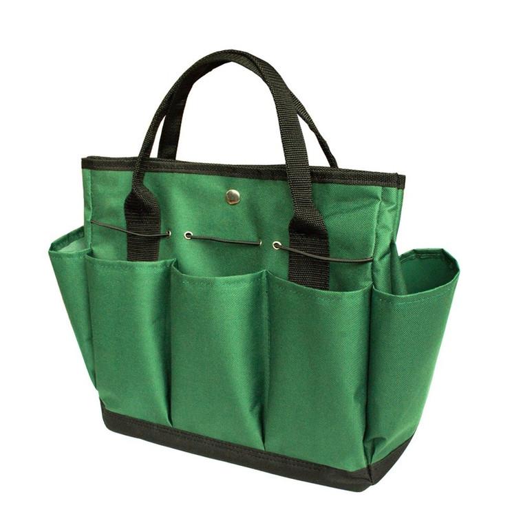 Garden Tote/ Gardening Tool Storage Bag/Garden Tool Bag with 8 Exterior Pockets