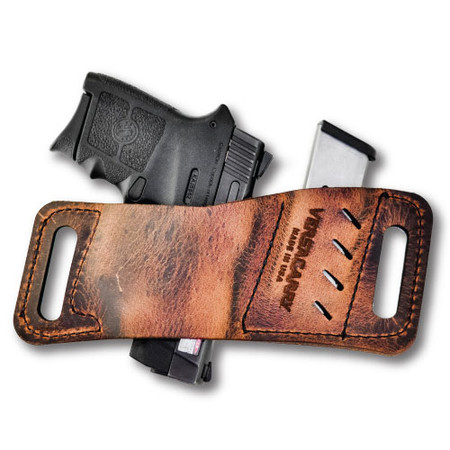 Rapid Slide Micro Holster  - Micro Guns Only - LCP, P-3AT, & Similar (Brown)