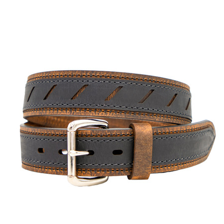 Double Ply Leather Belt - Underground Edition