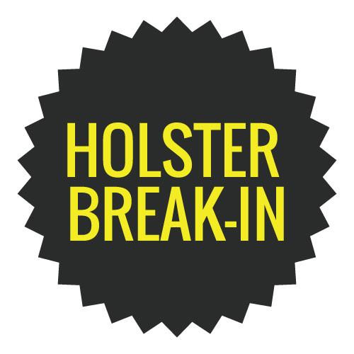 Leather Holster Break-In Service