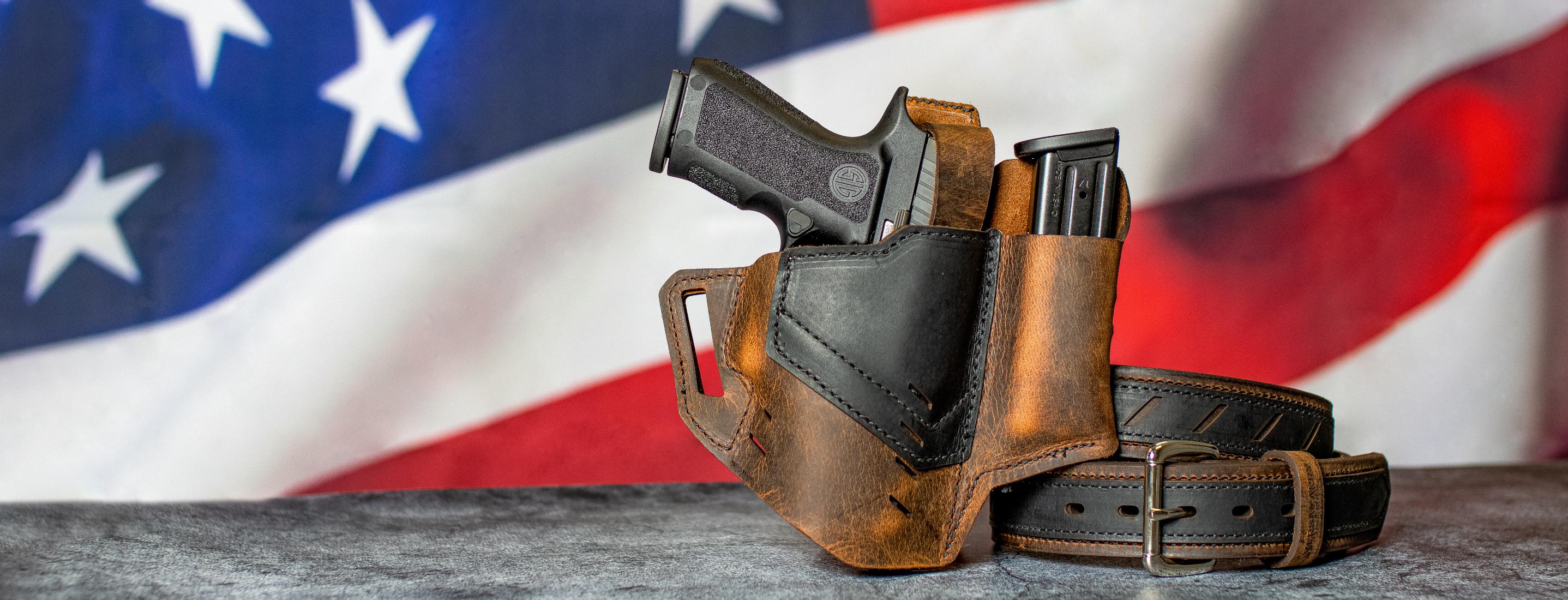 UNIVERSAL IWB GUN HOLSTER BUNDLEInside The Waistband Concealed Carry Pistol