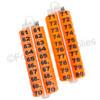 E-Z LOCKRINGS W/ NUMBERS 12 MM 61 - 80