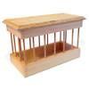 sanitary wood feeder