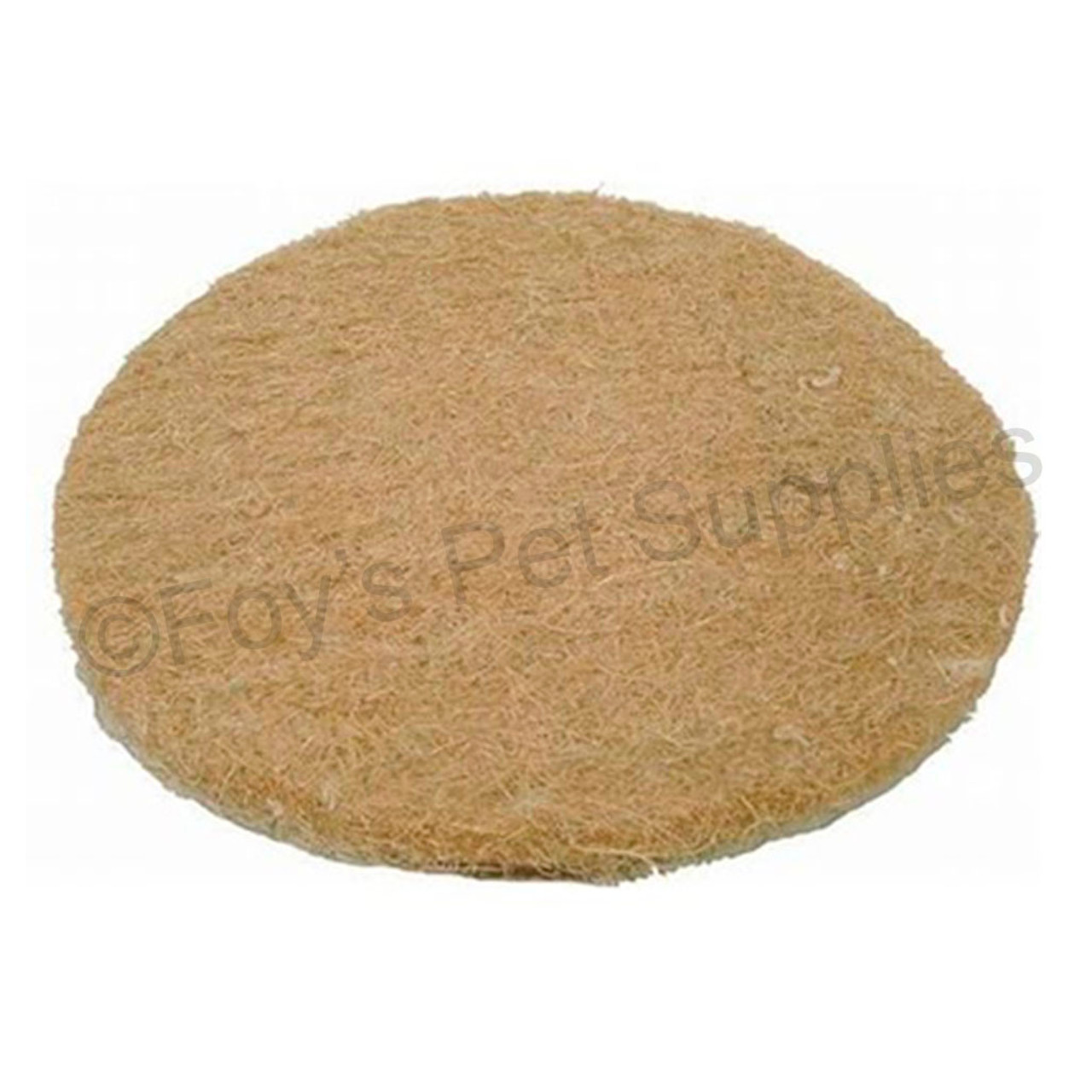 Small Coconut Fiber Nest Pads 7 in. - 10 Pack