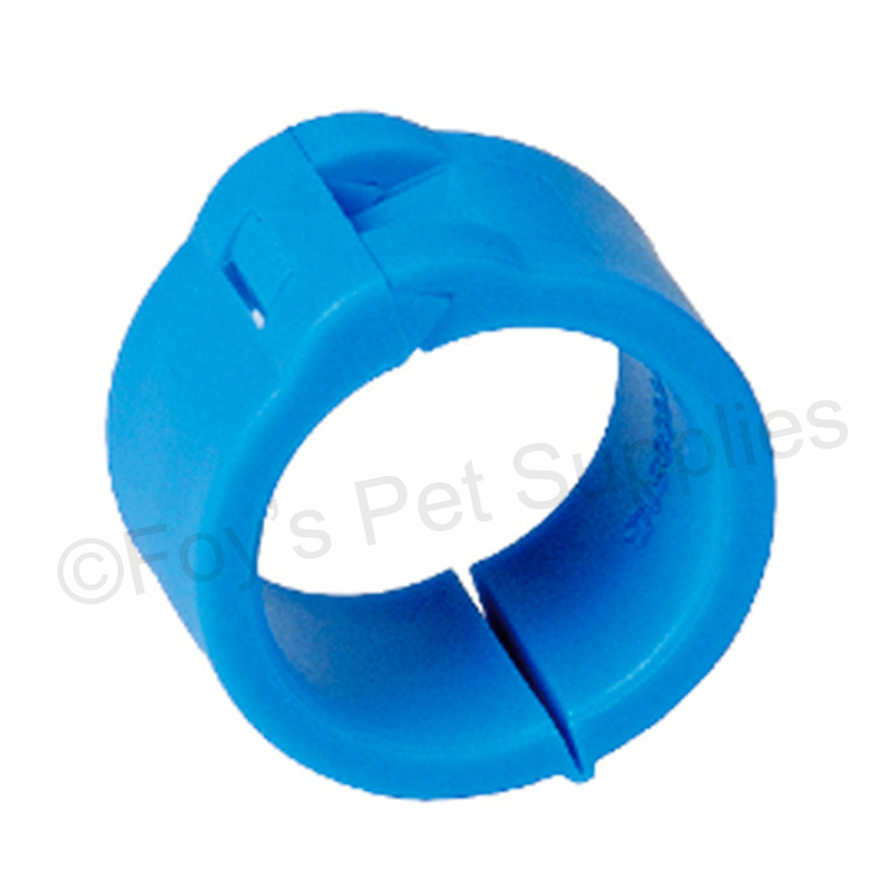 EZ LOCK RINGS - NO NUMBERS - 50 PACK - SIZE 10MM