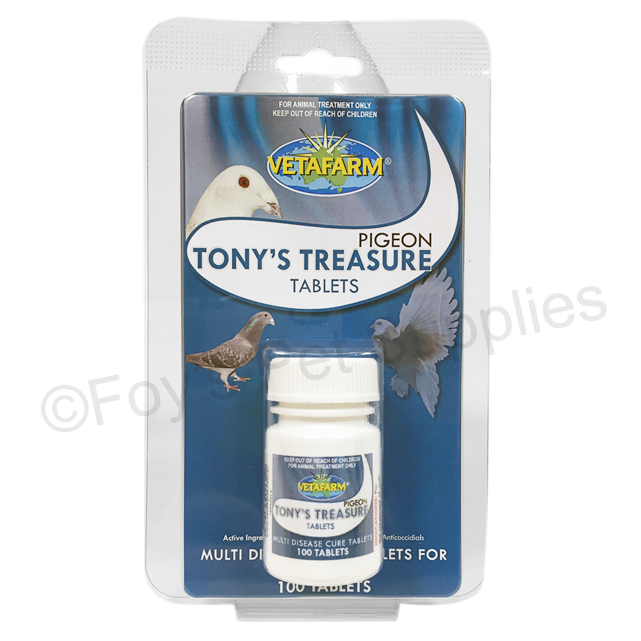 34 tony's treasure tablets 100