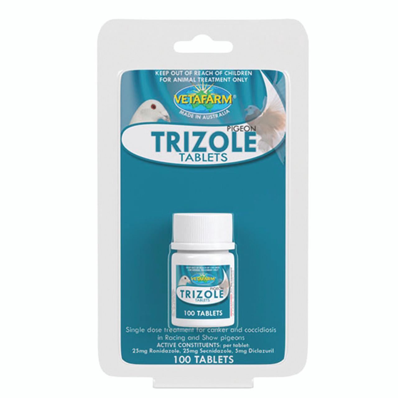 TRIZOLE TABLETS - 100 TABS