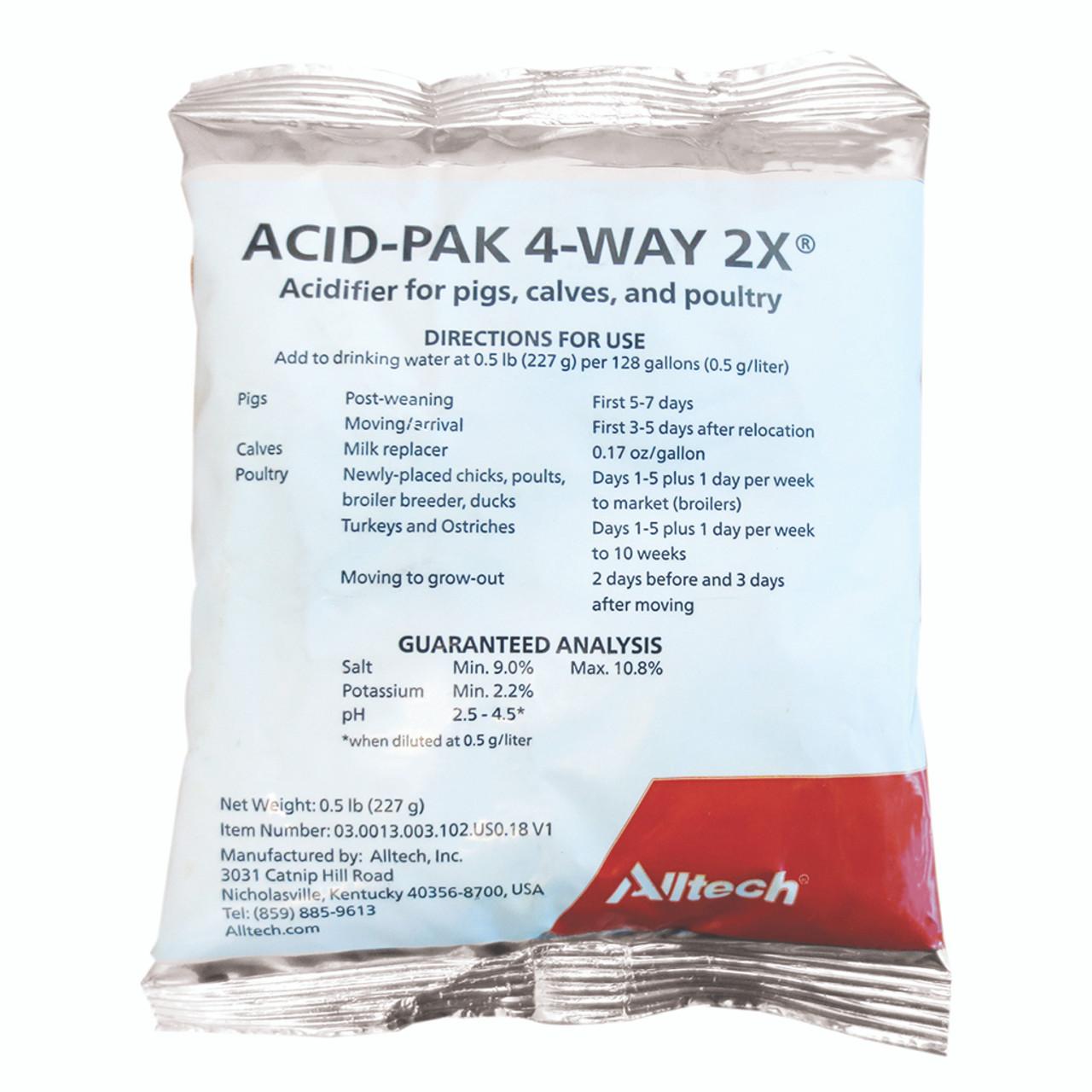 ACID-PAK 4 WAY 2X