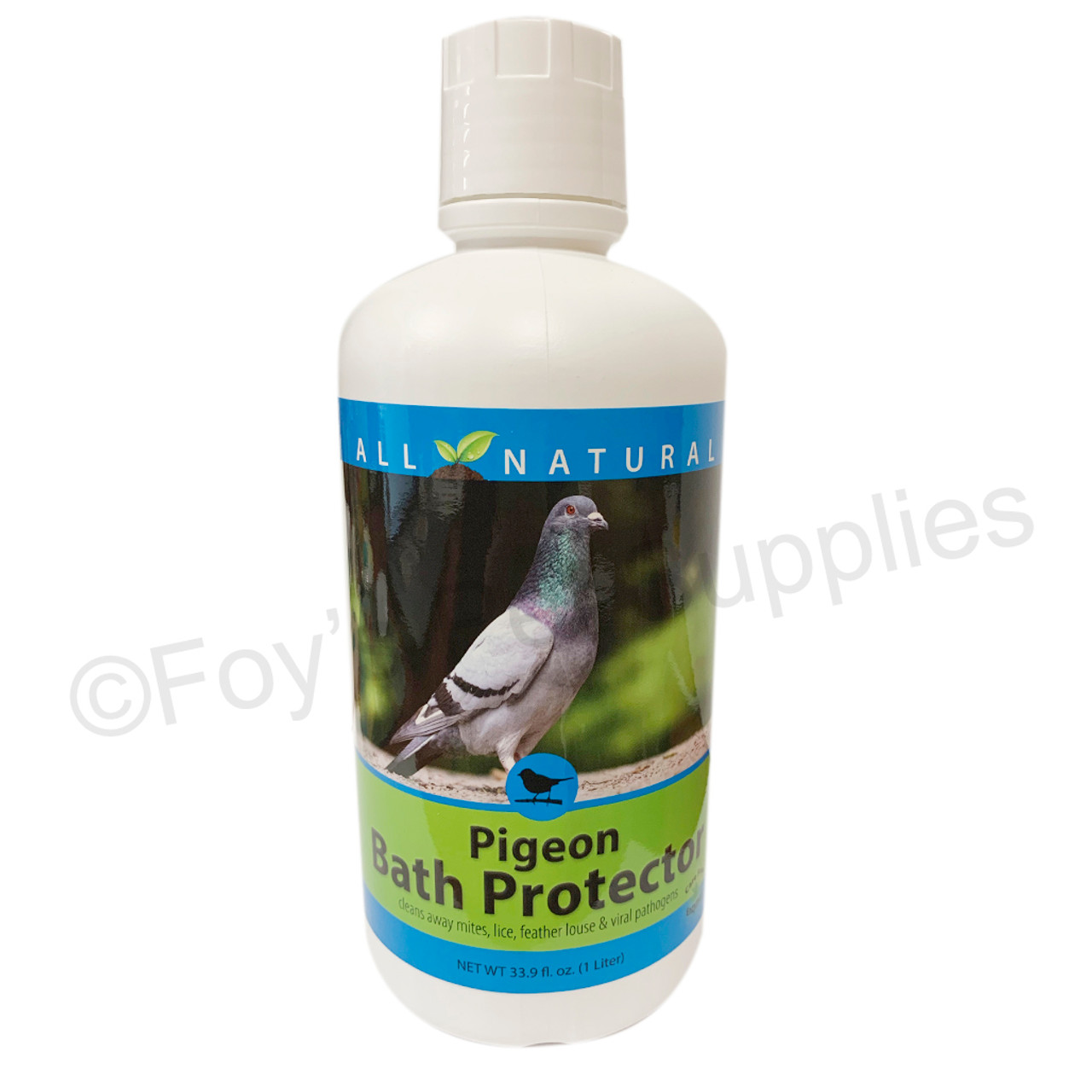 1683, Pigeon Bath Protector, all natural, mites, lice, and fleas