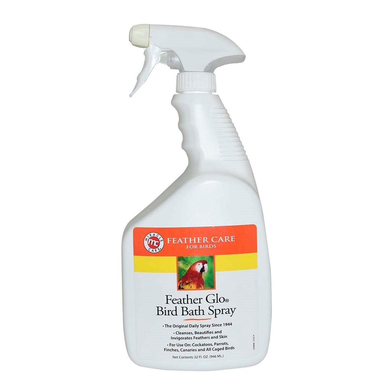 Feather Glo Bird Bath Spray