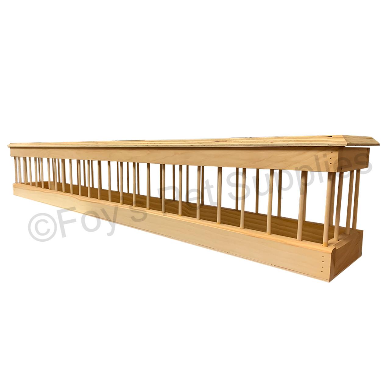 48 inch Sanitary Wood Feeder