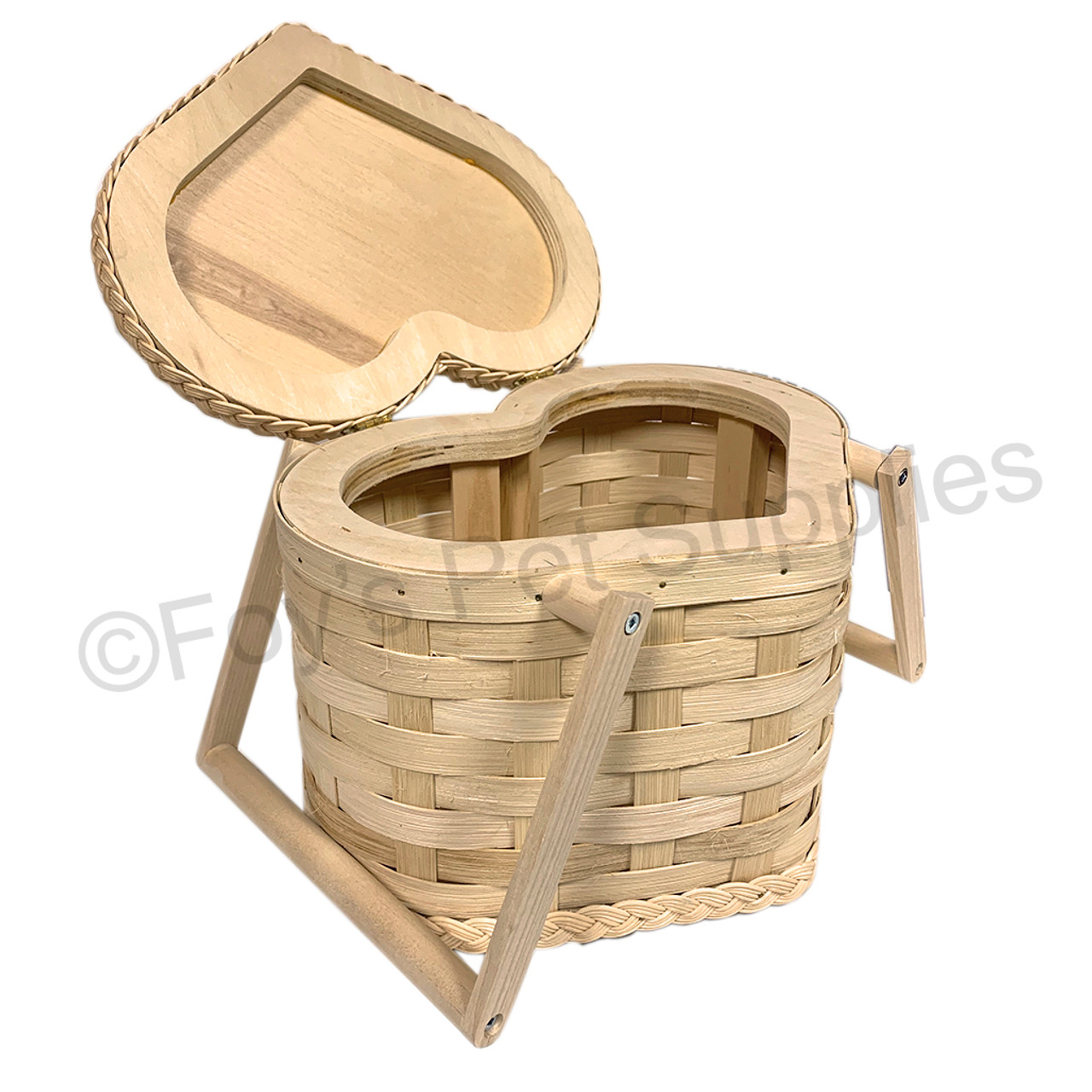 Deluxe Heart Basket - Small