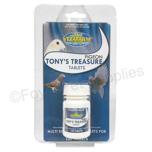 34 tony's treasure tablets 100