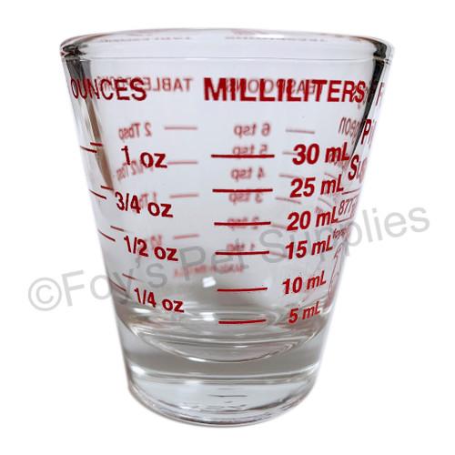 Foy's Measuring Glass